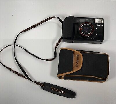 Canon Sure Shot AF35M II 35mm Film Camera 38mm 1:2.8 FOR PARTS NOT TESTED