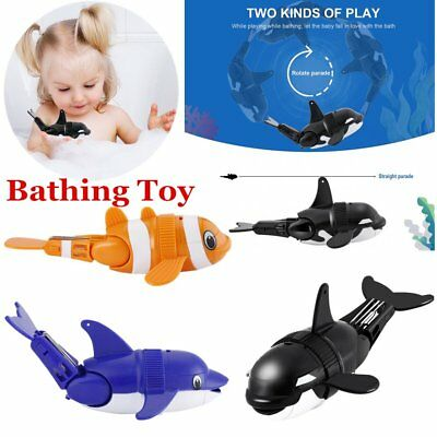 Children Kids Bath Bathing Portable Bath Toy Whale/Dolphin/Fish Gift Diving rt