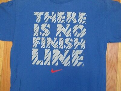 5a14be30a NIKE THERE IS No Finish Line Mens T-Shirt Size S -  11.57