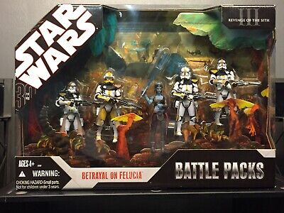 Star Wars 30th Anniversary Betrayal On Felucia Revenge Of The Sith Battle Packs 56 00 Picclick