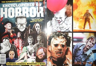 ENCYCLOPEDIA OF HORROR terrifying truth ZOMBIES vampires MONSTERS & MORE awesome