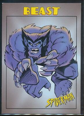 1997 Spider-Man .99 Trading Card #5 Beast