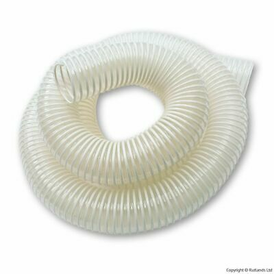 """2 1/2"""" x 3 Metre Dust Hose Clear and Flexible"""