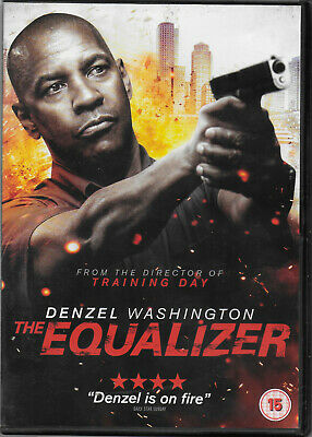 The Equalizer DVD 2014 Chloe Grace Moretz, Denzel Washington, Antoine Fuqua