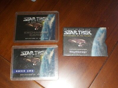 30 Years of Star Trek Phase One Survey, SkyMotion Exchange and Skymotion Cards