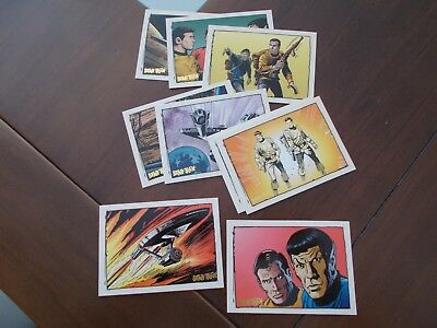 The Quotable STAR TREK TOS Comic Set 9 Cards Mint from Rittenhouse