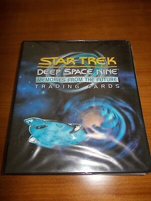 Star Trek DS9 Memories From The Future Complete Master Set With Binder R. Berman
