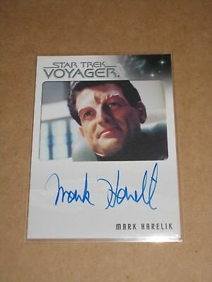 Star Trek Quotable Voyager Mark Harelik as Kashyk autograph MINT