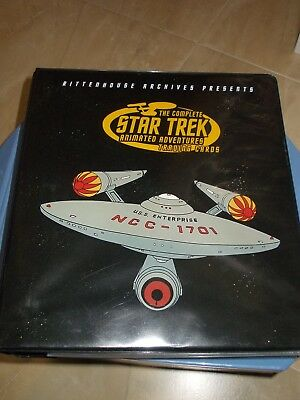 Star Trek Complete Animated Adventures 2003 Rittenhouse Mini Master Set & binder