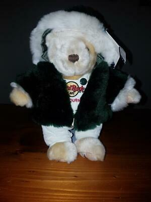 Hard Rock Cafe Melbourne Collectible Bear Limited Edition Holiday 2001W/G Parker