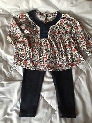 b936d5cbb baby Girl CAT & JACK Leggings & LUCKY Top, Size 24m, Sooo Adorable!