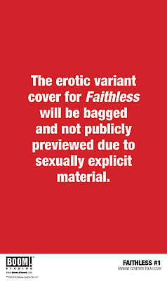 Faithless #1 Preorder Lotay Erotica Variant