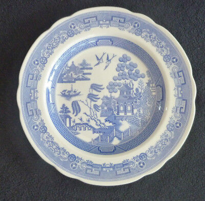 Spode The Blue Room WILLOW Blue & White China 23 cm Collector's Plate