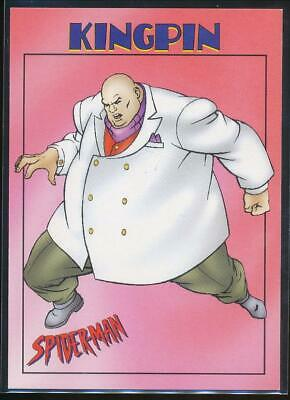 1997 Spider-Man .99 Trading Card #23 Kingpin