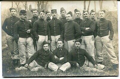 CPA - Carte Postale - Militaria - Photo de groupe - Régiment - Militaires (M8021
