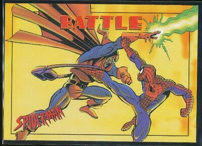 1997 Spider-Man .99 Trading Card #37 Spider-Man vs. Hobgoblin