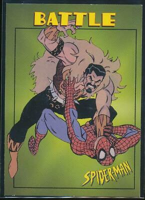 1997 Spider-Man .99 Trading Card #38 Spider-Man vs. Kraven