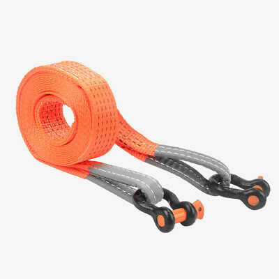 5M x 50mm 5T Tonne Heavy Duty Snatch Strap Tow Rope Towing 4x4 Offroad Recovery
