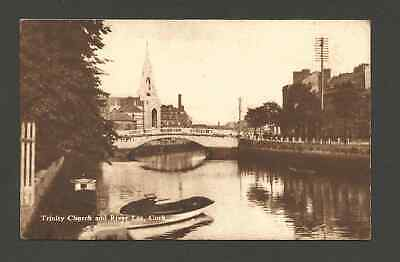 Trinity Church and the River Lee, Cork City