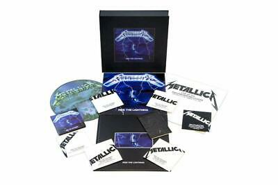 Metallica 'Ride The Lightning' Super Deluxe Edition (New Vinyl/CD Box Set)