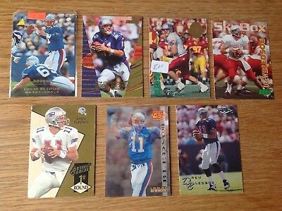 Nice Lot Of Drew Bledsoe NFL American football trading cards