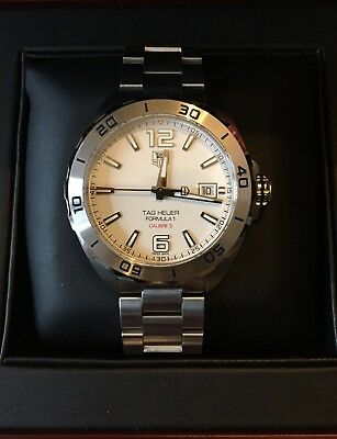 0b27b7156 TAG Heuer Formula 1 Calibre 5 Automatic Watch 41mm - Unworn with Box and  Papers