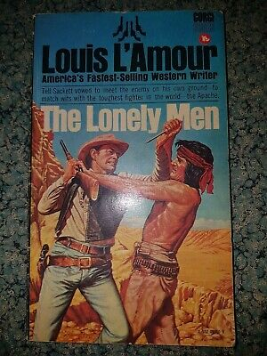 The Lonely Men by Louis L'Amour,Corgi Paperback Book  Pulp Western