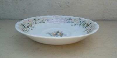 Royal Albert The Wind in the Willows Saucer -  The Carol Singers - Free Postage