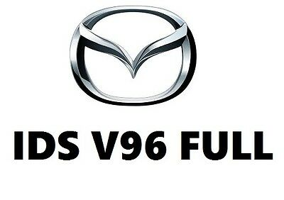 Mazda IDS v96 latest tested and most stable version - downloadable program