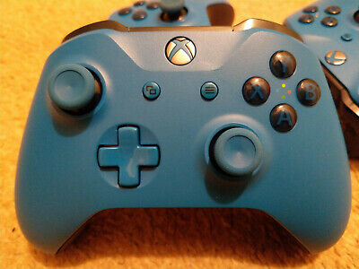 Microsoft Xbox One Wireless Controller - BLUE One S type model