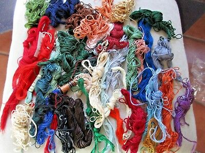 DMC  COLORFAST GRAND TEINT  5 EMBROIDERY THREAD YARN 15 M HUGE  Lot
