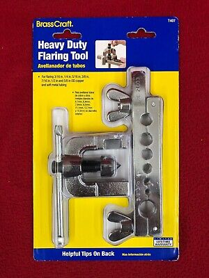 BrassCraft Heavy Duty 3/16-in to 5/8-in OD Flaring Tool T407 Soft Metal Tubing