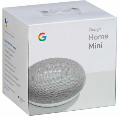 Google Home Mini Smart Speaker - Charcoal or Chalk New - UK Stock Quick Del