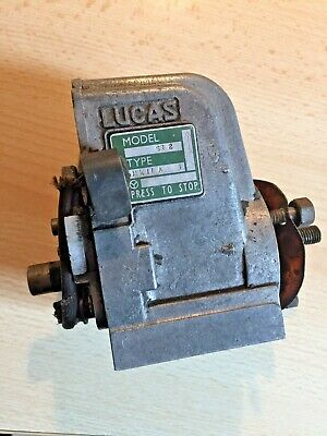 Lucas Magneto Mk2A, Mark 11 A, SR2 8-56 Royal Enfield Matchless AJS Others?