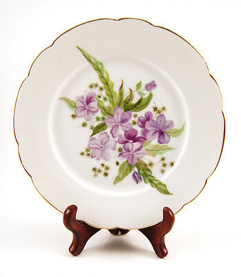 Limoges CFH GDM Bread Plate with Gold Trim 7 3/8""