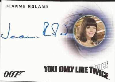 2016 007 James Bond Archives Spectre Jeanne Roland autograph A292 Masseuse