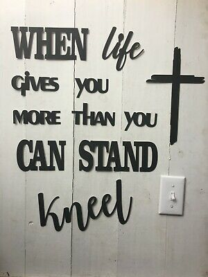 When life gives you more than you can stand - NOT a decal