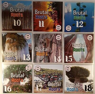 'Brutal Roots' MEGA 9CD Vol 10-18 (Modern Roots Reggae & Conscious Collection)