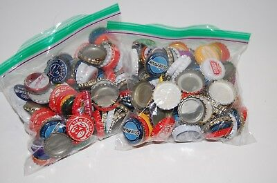 lot of 200 bottle caps