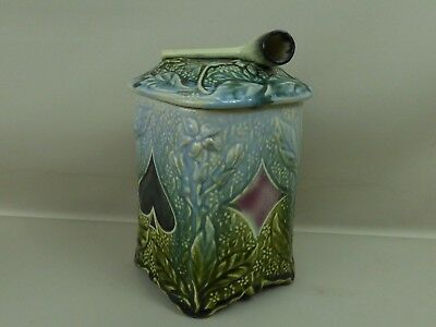 Ancien Grand POT A TABAC BARBOTINE style ONNAING NIMY WASMUEL