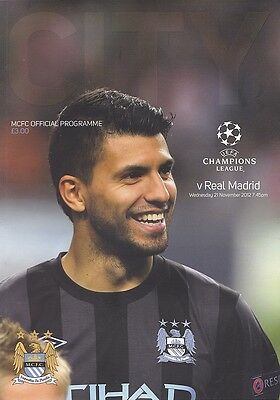 MANCHESTER CITY v REAL MADRID UEFA CHAMPIONS LEAGUE 2012/13