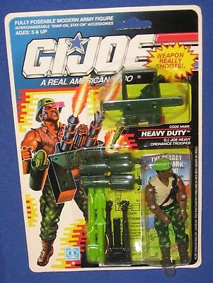 "GI Joe Heavy Duty 3.75"" Action Figure 1990 MOC Hasbro Cobra ARAH O-Ring Trooper"