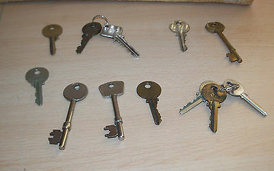 Collection Of Mixed Old Keys