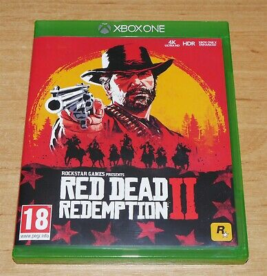Red dead redemption II 2 Game for Microsoft XBOX ONE