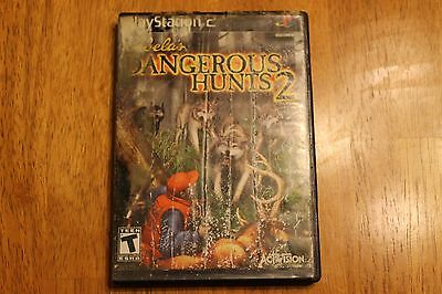 Cabela's Dangerous Hunts 2 (Sony PlayStation 2, 2005) **FAST FREE SHIPPING**