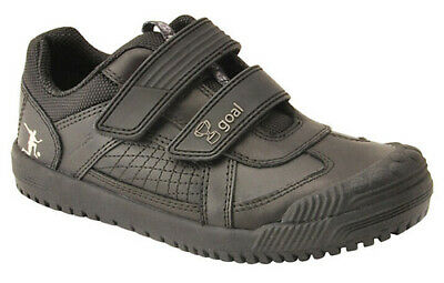 Start-rite CUP FINAL Boys Kids Black Leather School Shoes 9 - 12 E & H NEW BOXED