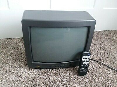 """JVC C-13810 13"""" CRT Gaming TV with Remote"""