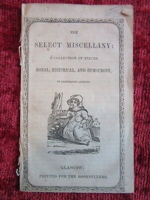 c.1765 Original Georgian Booklet The Select Miscellany fc56