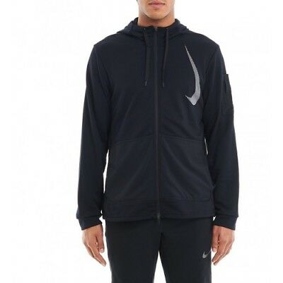 fb4f0667427b92 Nike Men s Size Large Dri-Fit full zip Project X Hoodie AA4656-010 Black