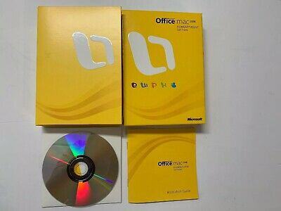 Microsoft Office 2008 Home and Student Edition for Mac 3 Product Keys